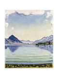 Thunersee at Leissingen  1909