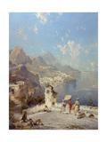 Overlooking Amalfi