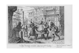 Sir John Falstaff Arrested  at the Suit of Mrs Quickly!