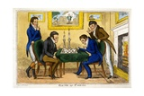 Game of Chess  Pub Mccleary  Dublin  1819
