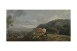 Morning: Landscape with Mares and Sheep  C1770-80