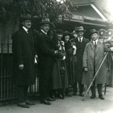 Mr and Mrs Martin Johnson's Party at London Zoo  October 1920