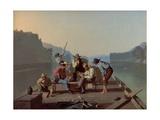 Raftsmen Playing Cards  1847