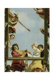 Musical Group on a Balcony  1622