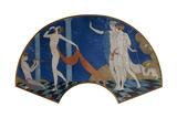 Dancing Figures on a Terrace, 1911 Tableau sur toile par Georges Barbier