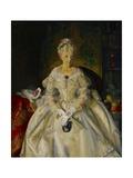 Mrs T in Cream Silk  No2  1920