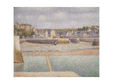 Port-En-Bessin: the Outer Harbor (Low Tide)  1888