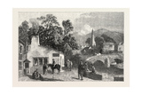 The Village Smithy  Exhibition of the Society of Painters in Water Colours  1851
