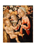 Madonna and Child with Angels  C1475