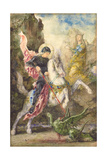 St George and the Dragon  1869
