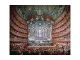 Concert Offered by Cardinal De La Rochefoucauld at the Argentina Theatre in Rome  in 1747