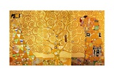 Detail of 'The Stoclet Frieze', 1905-09 Reproduction d'art par Gustav Klimt