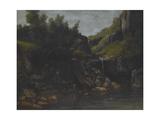 Cascade in a Rocky Landscape  C1872-4