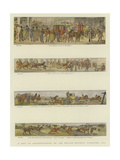 A Trip to Leicestershire  or the Melton Mowbray Panorama  1820