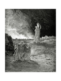 Lot Book of Genesis  Bible Episode of Destrucction of Sodom and Gomorrah Lot Flees from Sodom