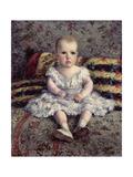 Child on a Sofa  1885