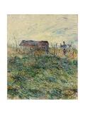 Ploughing in the Vineyard  1883