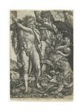 Hercules Destroys the Lernaean Hydra  1550