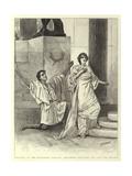 Hypatia at the Haymarket Theatre  Philammon Declaring His Love for Hypatia
