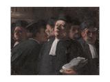 La Salle Des Pas-Perdus Au Palais De Justice