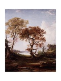 The Hudson at Piermont  1852