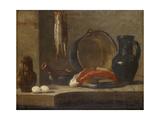 Still Life of Kitchen Utensils  C1733-34