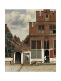 View of Houses in Delft  known as 'The Little Street'  C1658