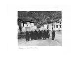 Lamas in Sera Monastery  Lhasa  Tibet  1903-04