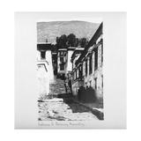 Entrance to Nachung Monastery  Tibet  1903-04