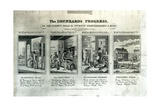 The Drunkard's Progress  1826