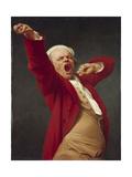 Self-Portrait  Yawning  1783