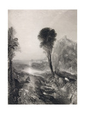 Mercury and Argus  Engraved by James T Willmore (1800-63) 1841 (Etching and)