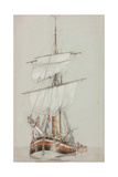 Study of a Sailing Ship
