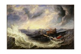Seascape with Wreckage