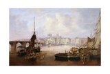 The Mayor's Barge on the Tyne  1828