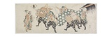 Six Male Gods Performing the Lion Dance  1797-1819