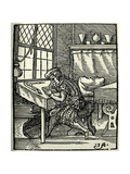 The Woodblock Cutter  1568