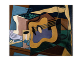 Still Life with Guitar  October-November 1920
