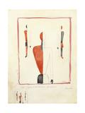 Three Suprematist Figures  C 1921-2