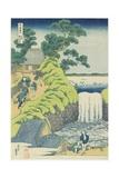 Waterfall at Aoigaoka in Edo  C 1833