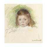 Portrait of Ellen Mary Cassatt (Pastel on Paper Mounted on Paperboard 362 X 359Cm)