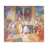 Clothing of Saint Brigida  1524