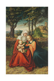 The Virgin Mary with Saint Anne Holding the Infant Jesus