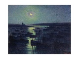 Camaret  Moonlight and Fishing Boats  1894