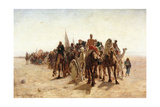 Pilgrims Going to Mecca; Pelerins Allant a La Mecque  1890