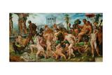 The Triumph of Bacchus  1536-7