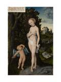 Venus with Cupid Stealing Honey  1530