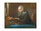 Abbe Jean-Jacques Huber  1742