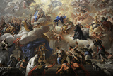 Triumph of the Immaculate  1710-1715