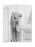 Le Portrait De La Prima Donna  Plate 4 from Les Toquades  1858